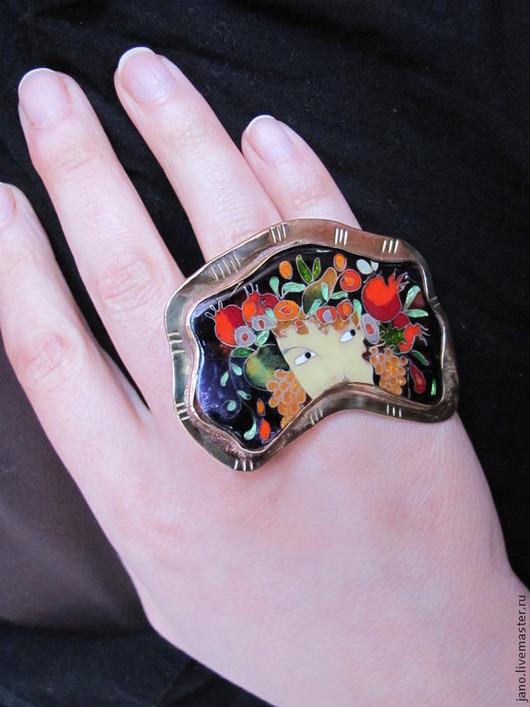 """Кольца ручной работы. Ярмарка Мастеров - ручная работа. Купить кольцо """"Флора"""". Handmade. Кольцо ручной работы, подарок женщине"""