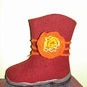 Обувь ручной работы. Ярмарка Мастеров - ручная работа Валенки для Девочки. Handmade.
