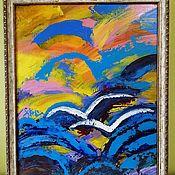 Картины ручной работы. Ярмарка Мастеров - ручная работа Картины: Двое. Handmade.