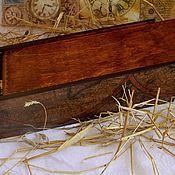 """Подарки к праздникам ручной работы. Ярмарка Мастеров - ручная работа Короб для вина """"Старинные карты"""". Handmade."""