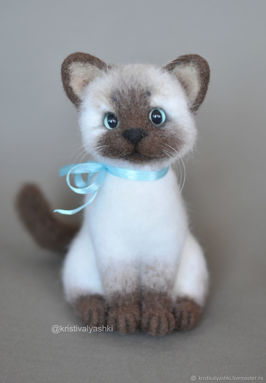 Felted toy Cat, Felted Toy, Severodvinsk,  Фото №1