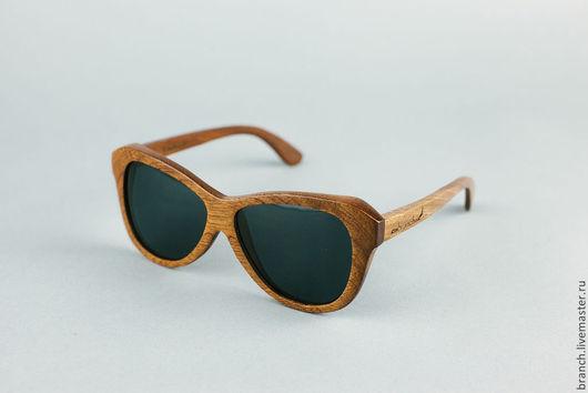 Очки ручной работы. Ярмарка Мастеров - ручная работа. Купить деревянные очки branch B-1403. Handmade. Коричневый, очки
