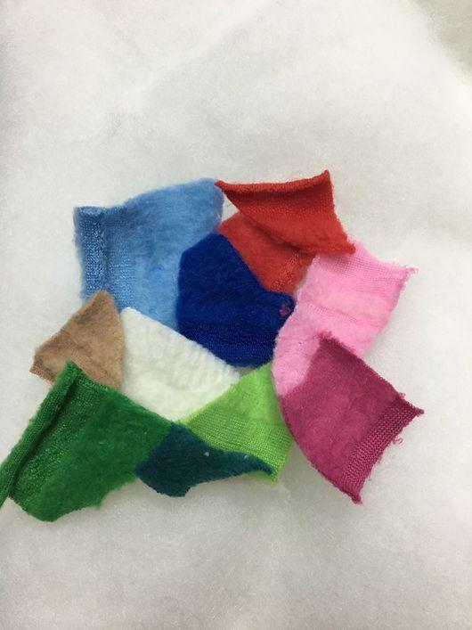 Шитье ручной работы. Ярмарка Мастеров - ручная работа. Купить Ткань флис разные цвета (внутри). Handmade. Черный, флис