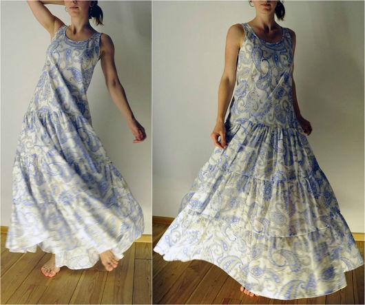 Как сшить платье своими руками из ситца