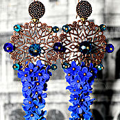 """Украшения ручной работы. Ярмарка Мастеров - ручная работа Коллекция сережек """"Магия цвета"""". Handmade."""