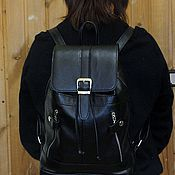 Сумки и аксессуары handmade. Livemaster - original item Backpack leather city 1. Handmade.