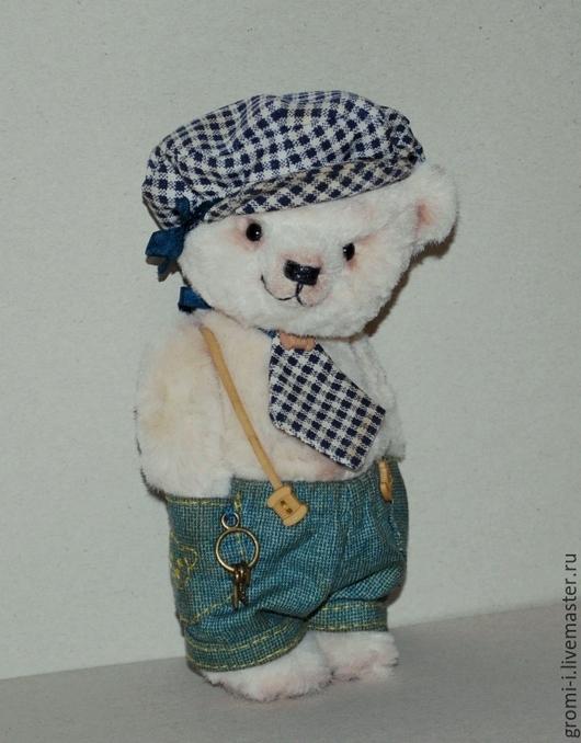 Мишки Тедди ручной работы. Ярмарка Мастеров - ручная работа. Купить Плюша. Handmade. Белый, авторская ручная работа, подарок