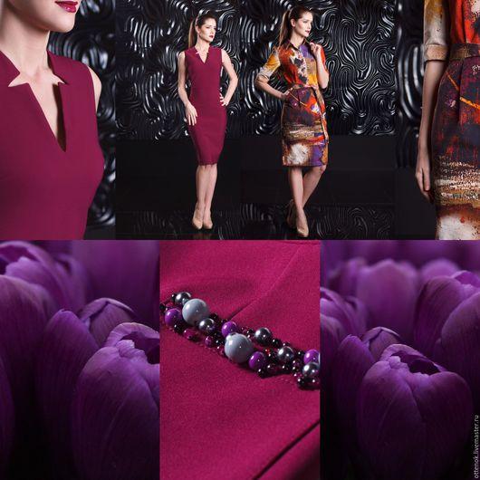 Платья ручной работы. Ярмарка Мастеров - ручная работа. Купить Фиолетовый тюльпан. Handmade. Тёмно-фиолетовый, фиолетовый цвет, тюльпан