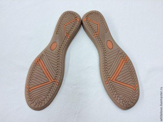Другие виды рукоделия ручной работы. Ярмарка Мастеров - ручная работа. Купить Подошва для  обуви. Handmade. Бежевый, подошва для балеток