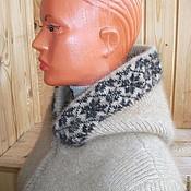 Одежда ручной работы. Ярмарка Мастеров - ручная работа Куртка из собачьей шерсти с капюшоном. Handmade.