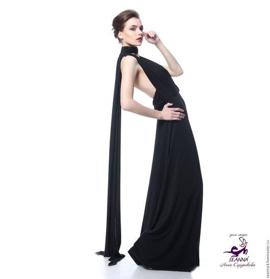 Платья ручной работы. Ярмарка Мастеров - ручная работа. Купить Супер платье-трансформер! Одно заменяет десяток платьев - подходит люб. Handmade.