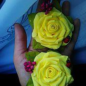 Украшения ручной работы. Ярмарка Мастеров - ручная работа Розы-розы!!!. Handmade.