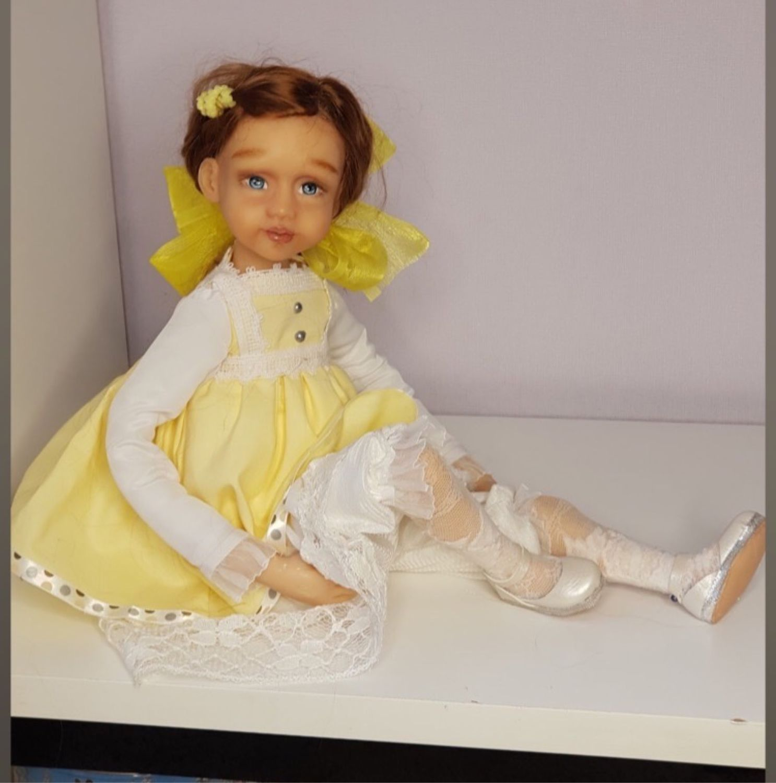 Кукла Анечка, Интерьерная кукла, Самара,  Фото №1