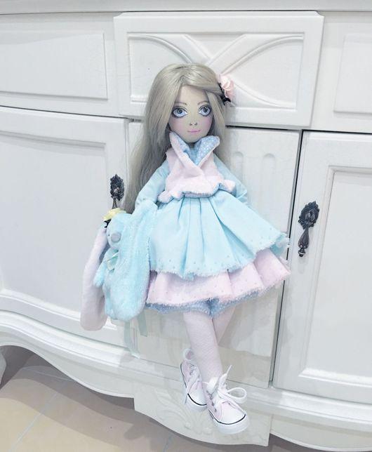 Коллекционные куклы ручной работы. Ярмарка Мастеров - ручная работа. Купить Текстильная кукла Милена. Handmade. Кукла ручной работы