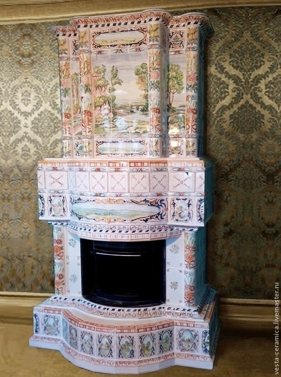 Brandenburg fireplace, Fireplaces, Moscow,  Фото №1