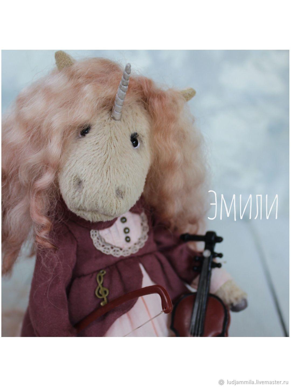 Единорожка Эмили, Тедди Зверята, Приморско-Ахтарск,  Фото №1