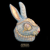 Украшения handmade. Livemaster - original item Brooch Rabbit.. Handmade.
