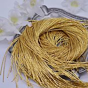 Канитель ручной работы. Ярмарка Мастеров - ручная работа Канитель фигурная  1 грамм  Европа 0,8мм , цвет золото. Handmade.
