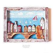 """Картины и панно ручной работы. Ярмарка Мастеров - ручная работа Панно driftwood  """"Гринландия"""". Handmade."""