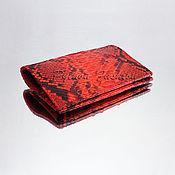 Канцелярские товары handmade. Livemaster - original item Passport cover from Python PASS. Handmade.