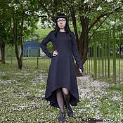 Одежда ручной работы. Ярмарка Мастеров - ручная работа Платье с ассиметричным низом.. Handmade.