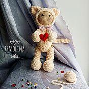 Куклы и игрушки ручной работы. Ярмарка Мастеров - ручная работа Кошка Мурка. Handmade.