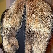 Аксессуары handmade. Livemaster - original item Raccoon fur collar. Handmade.