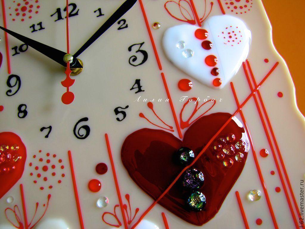 be8a7399549f фьюзинг, часы из стекла Дела сердечные – купить в интернет-магазине ...