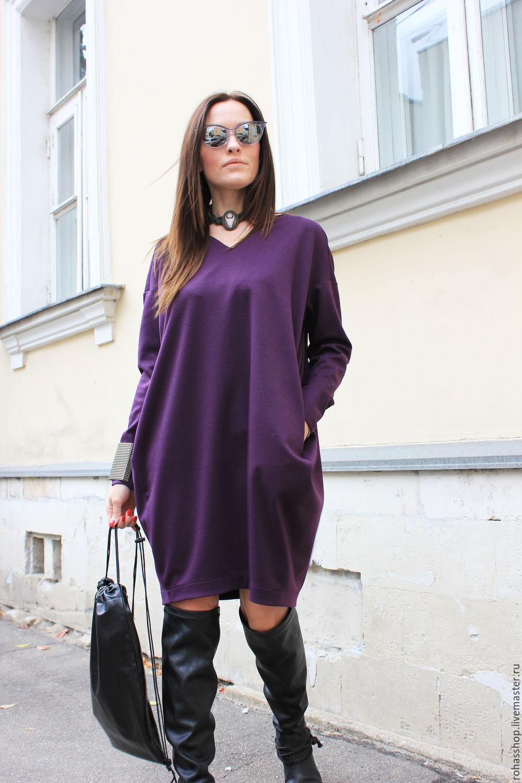 c39cae9e13b Платье Purple Furia – купить в интернет-магазине на Ярмарке Мастеров ...