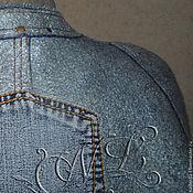 """Одежда ручной работы. Ярмарка Мастеров - ручная работа Валяное пальто-кокон  """" Favorite Jeans...!"""". Handmade."""