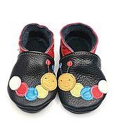 Обувь ручной работы handmade. Livemaster - original item Caterpillar, Kids Slippers, Baby Moccasins, Baby shoes, Ebooba. Handmade.