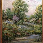 Картины и панно handmade. Livemaster - original item Landscape. Oil.. Handmade.