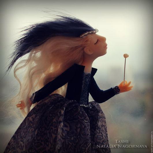 Миниатюра ручной работы. Ярмарка Мастеров - ручная работа. Купить Феечка Маргарита (миниатюрная интерьерная кукла). Handmade. Миниатюра, талисман