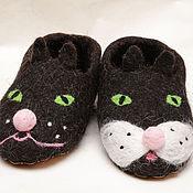 Обувь ручной работы. Ярмарка Мастеров - ручная работа Кошки. Handmade.