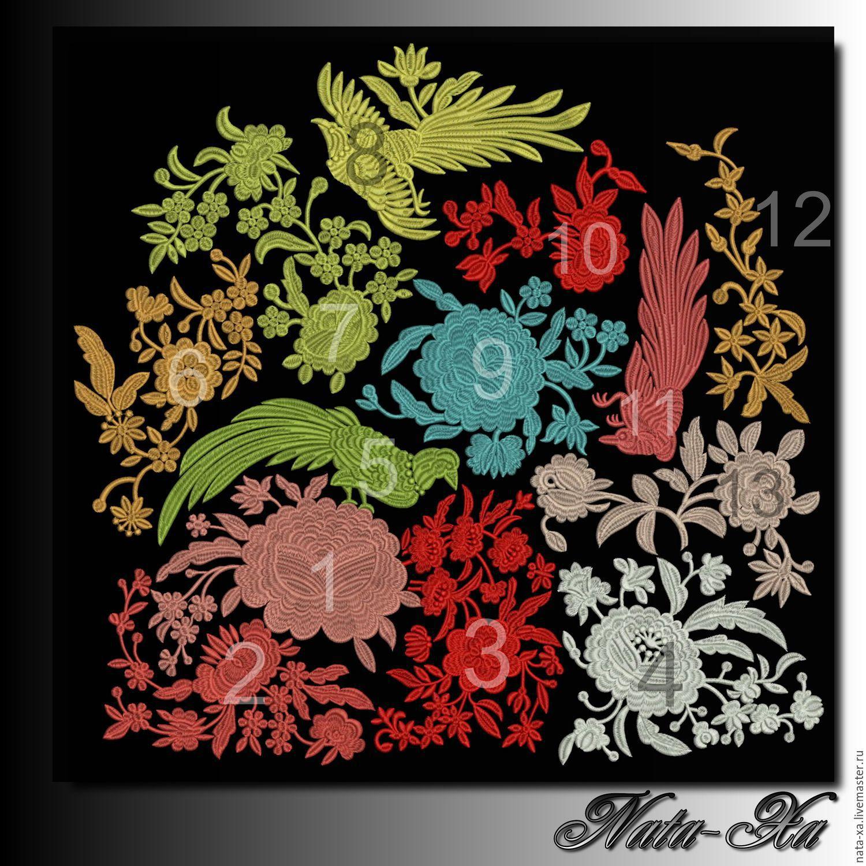 Дизайны машинной вышивки бесплатно Royal Present Embroidery 49