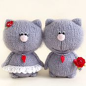 Куклы и игрушки handmade. Livemaster - original item Pussies One heart for two.. Handmade.