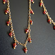 Украшения handmade. Livemaster - original item With pendant with pendants on a thin chain
