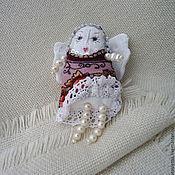 Куклы и игрушки ручной работы. Ярмарка Мастеров - ручная работа Куколка- ангелочек талисман. Handmade.