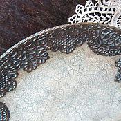 """Посуда ручной работы. Ярмарка Мастеров - ручная работа Тарелка для интерьера из серии  """"Saint-Ouen"""". Handmade."""