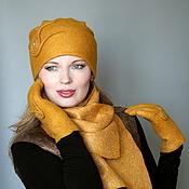 Аксессуары handmade. Livemaster - original item The hat felted. women`s. Handmade.