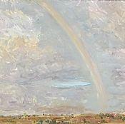 Картины и панно handmade. Livemaster - original item Rainbow brought joy. Handmade.