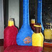 Посуда ручной работы. Ярмарка Мастеров - ручная работа Шерстяные бутылки и фляжки. Handmade.