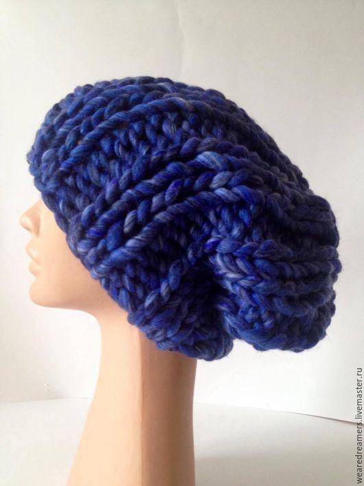 Связать шапку из мериносовой шерсти