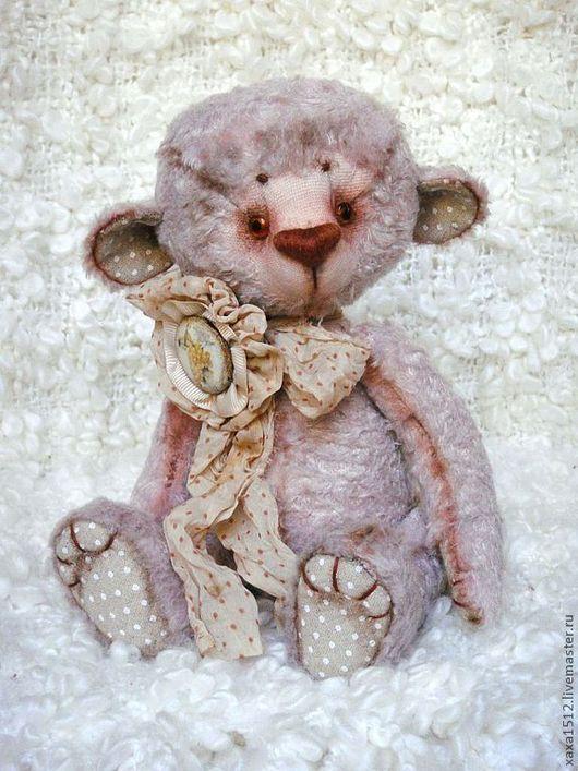 Мишки Тедди ручной работы. Ярмарка Мастеров - ручная работа. Купить Тедди мишка Офелия. Handmade. Бледно-сиреневый, teddy