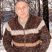Одежда handmade. Livemaster - original item Cardigan male