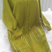 Одежда ручной работы. Ярмарка Мастеров - ручная работа Платье кокон. Handmade.