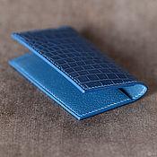 Сумки и аксессуары handmade. Livemaster - original item Cardholder crocodile. Handmade.