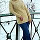 Кофты и свитера ручной работы. Вязаный свитер с косами. Knitted Sea. Интернет-магазин Ярмарка Мастеров. Свитер с косами