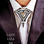 Украшения handmade. Livemaster - original item Men`s brooch tie dyal. jewelry for men. Men`s jewelry.. Handmade.