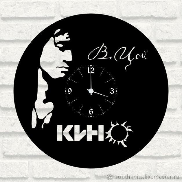 "Часы ""КИНО"" из пластинки, Часы, Ялта,  Фото №1"